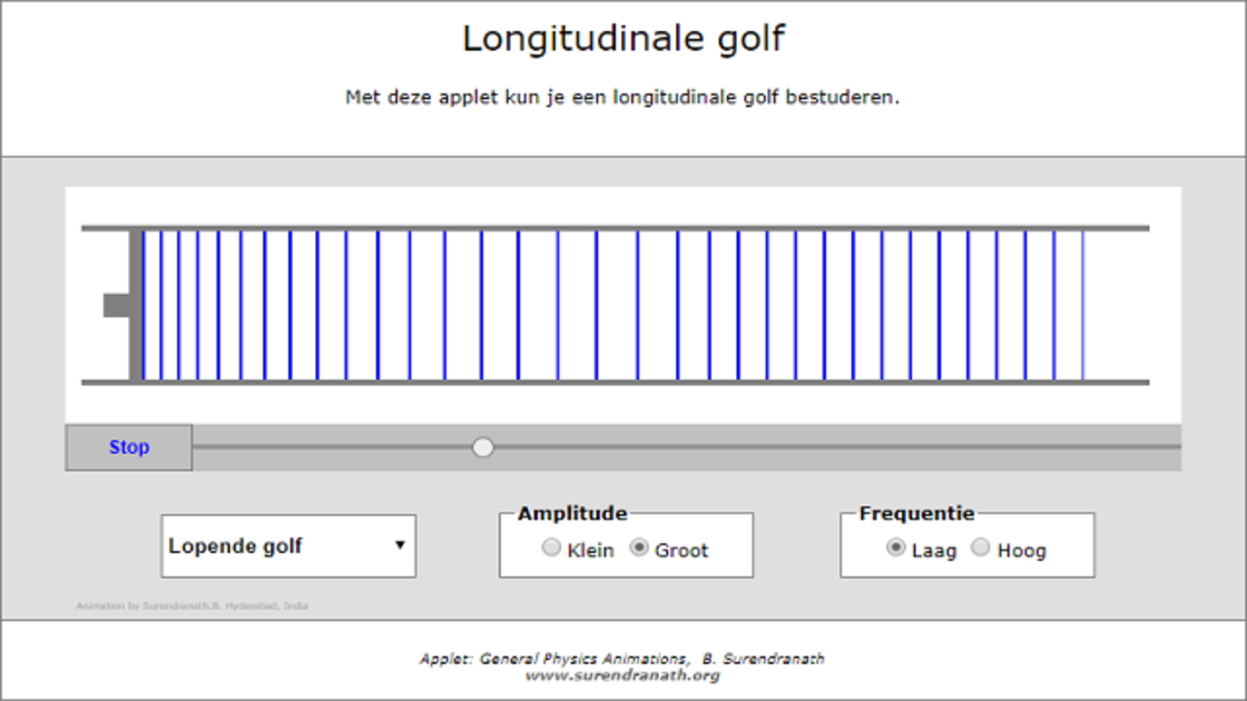 Longitudonale golf