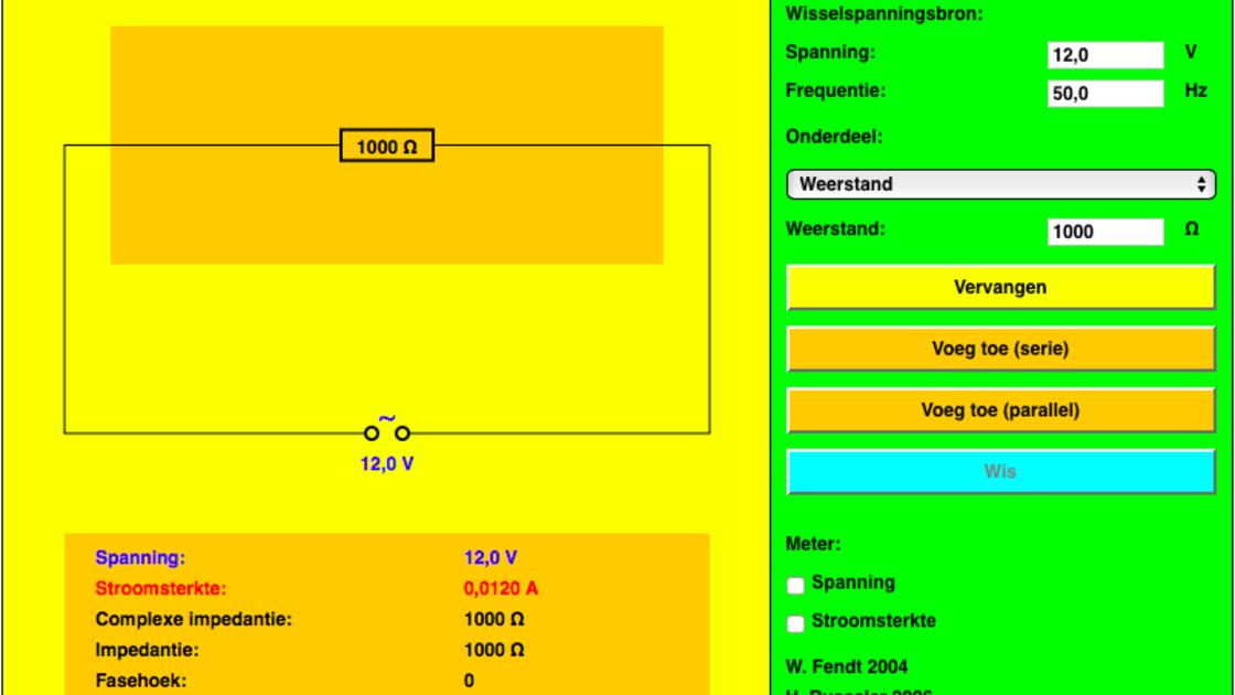 Combinaties van weerstanden, spoelen en condensatoren