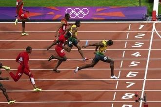 100 m sprint (HAVO1, 2008-1, opg 2)