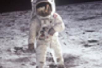 Sporten op de maan