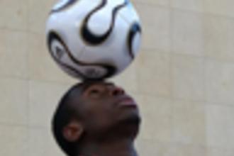 Model van een voetbal 1