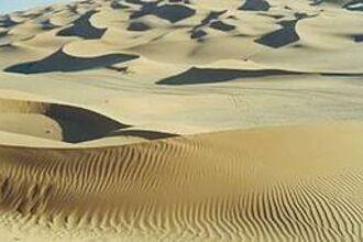 Stromend zand?