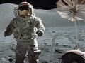 Sprong op de maan