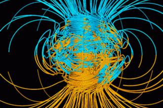 Magneetveld van de aarde (VWO, 2014-2, opg 4)