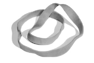 Postbode-elastiek (havo voorbeeldexamen 2015, opg. 2)