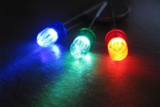 Gekleurde LED's (VWO examen, 2016-1, opg 1)