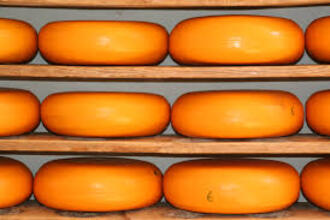 Kaas smelten in een magnetron