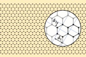 Diffractiepatroon bij grafiet
