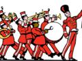 Plaatje muziekkorps