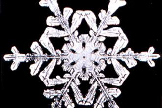 Hoeveel miljard sneeuwvlokken op een dag?