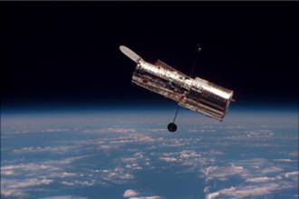 De reparatie van de Hubble-telescoop