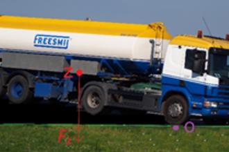 Klotsende tankwagens