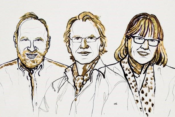 Winnaars Nobelprijs voor de Natuurkunde 2018