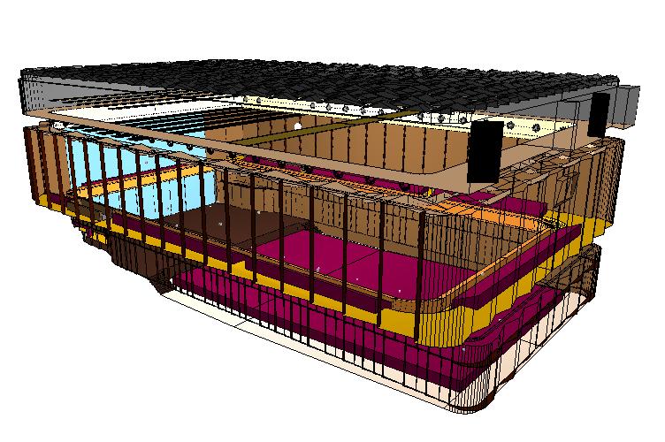 3D simulatie concertzaal