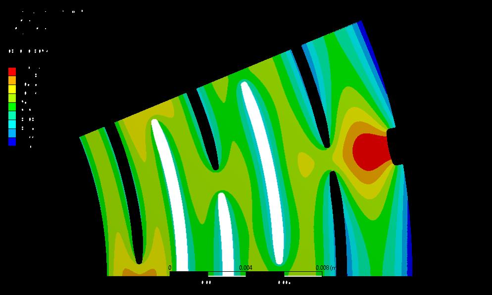 Simulatie temperatuur in magneetplaat