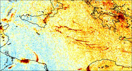 Metingen stikstofdioxide door Tropomi